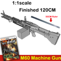 Hardcover edition puzzle magazines JSA17 3D paper model diy firearms 1 : 1 Size M60 machine guns toy