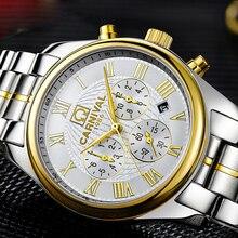 Relojes de lujo hombres Día Fecha reloj de la máquina Automática de acero inoxidable cristal de Zafiro whitedial relogio masculino