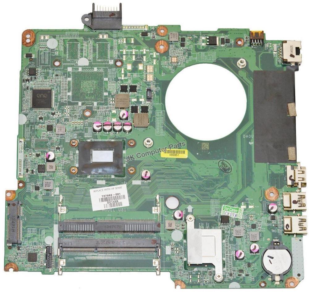 Per HP 15-N 15T-N Scheda Madre Del Computer Portatile 737982-501 737982-001 W/i3-3217u HM76 DA0U81MB6C0 MainBoard 100% Testato velocePer HP 15-N 15T-N Scheda Madre Del Computer Portatile 737982-501 737982-001 W/i3-3217u HM76 DA0U81MB6C0 MainBoard 100% Testato veloce