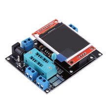 GM328B LCD Transistor Tester Diode ESR Meter PWM Square Wave Generator With Case