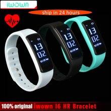 Iwown I6 HR сердечного ритма Мониторы Smart Браслет Спорт Bluetooth 4.0 Smart Band Фитнес трекер VS Mi band 1 s