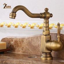 ZGRK Basin Sink Faucet Water Mixer Water Tap Bath Faucet Brass Bathroom Mixer Tap Wash Basin Mixer Taps Bathroom Crane цена