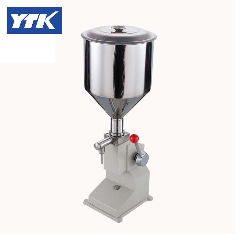 YTK (5~50ml) Manual Filling Machine Small Paste Filling Machine Quantitative Liquid Filling Machine for cream & shampoo zonesun 5 50ml manual filling machine small paste filling machine quantitative liquid filling machine for cream shampoo honey