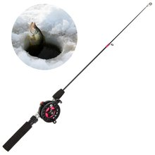 New Winter Fishing Rods Ice Fishing Rods Fishing Reels To Choose Rod Combo Pen Pole Lures Tackle Spinning Casting Hard Rod(China)