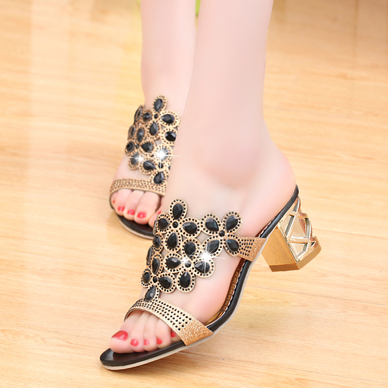 new 2017 fashion women big rhinestone cut outs high heel party sandals - free shipping! New Fashion Women Big Rhinestone Cut Outs High Heel Party Sandals – Free Shipping! HTB1NsuORVXXXXbsXXXXq6xXFXXXw