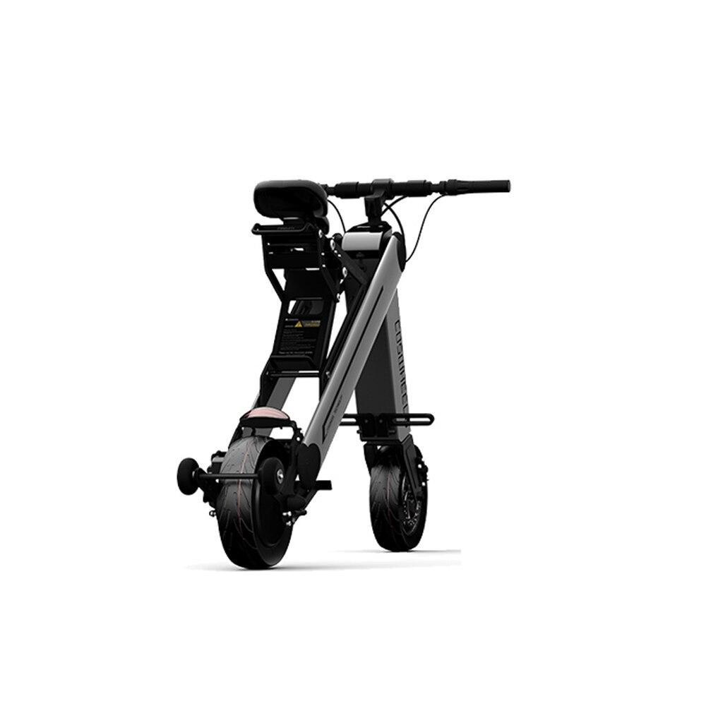10 дюймов coswheel-One X Pro 40 км Складной электрический самокат Портативный мобильности скутер взрослых Электрические велосипеды с APP