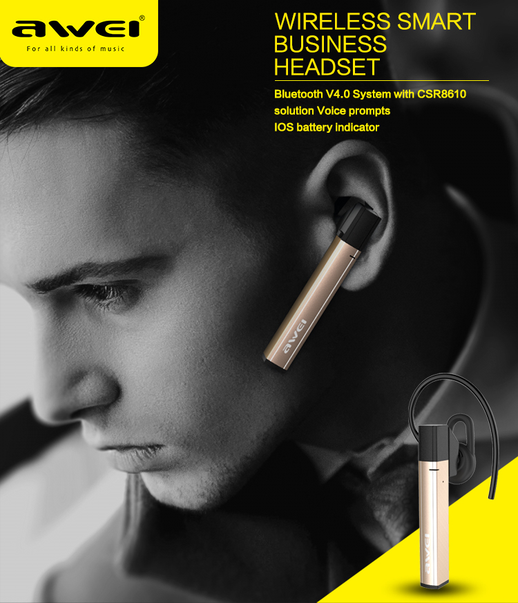 A831BL Fashion Sport Wireless Earphone Bluetooth Headphones Hands Free With Microphone For Phones Auriculares Headset Ecouteur