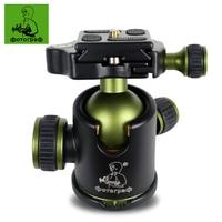 DPOTORPADP SYS20 Professional Camera Ball Head Tripod Head Panoramic Head Sliding Rail Head Aluminum Alloy Max Load 10kg
