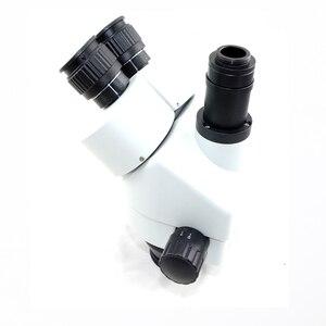 Image 4 - Schiff von Spanien 34MP Digital mikroskop kamera 3.5X 90X simul brenn Trinocular Stereo Mikroskop löten pcb telefon reparatur