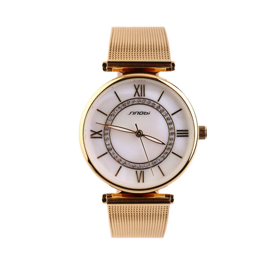 Top Brand Fashion Women Lady Watch Steel Strap Luxury Bracelet Wrist Watch For Girls Round Shape Quartz Watches Relojes Mujer одежда