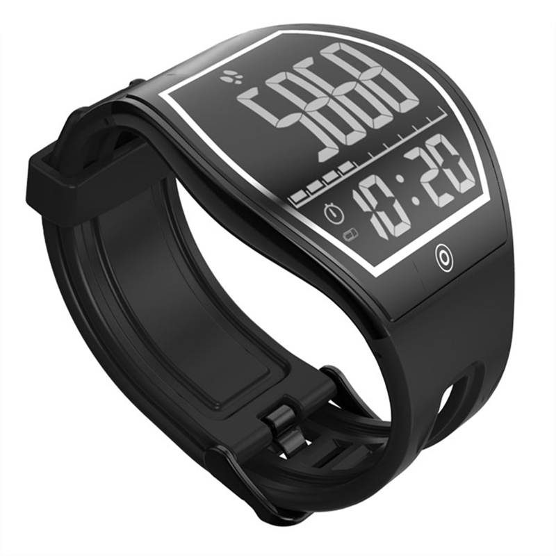 Curved Surface Touch Screen Sleep tracker Pedometer Wireless Charge Bluetooth Fitness Men Sport E ink E Paper Dgital Smart Watch