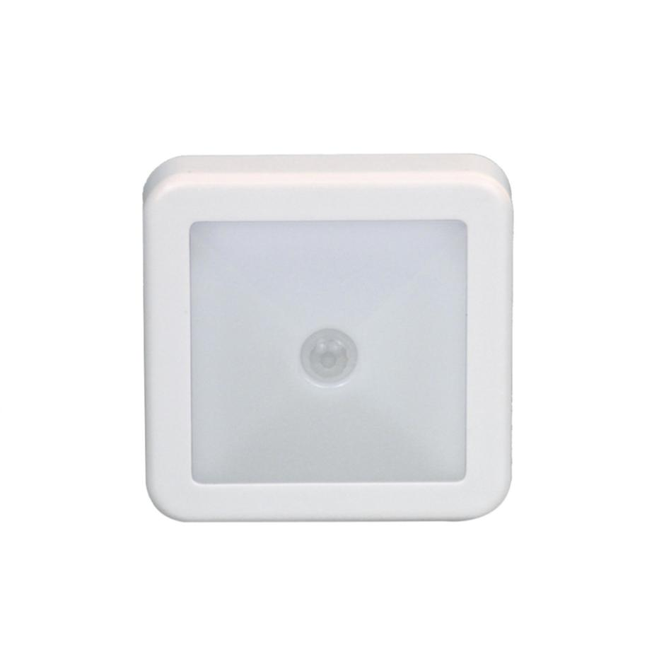 MUQGEW 6 LED PIR Body Motion Sensor Activated Wall Light Night Light Induction Lamp Closet Corridor Cabinet led Sensor Light high quality pir human body induction motion sensor light control led night lamp with magneti