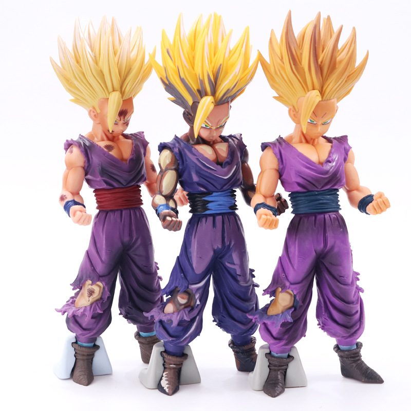 23-25cm Anime Dragon Ball Z Super Saiyan Son Gohan Action Figures Master Stars Piece Dragonball Figurine Collectible Model Toys