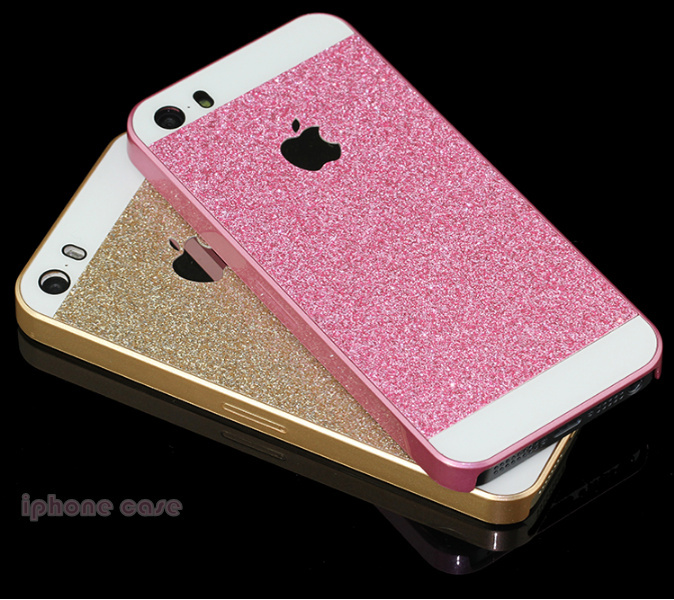Phone case shiny Glitter Cases For iphone 5 5s case ...