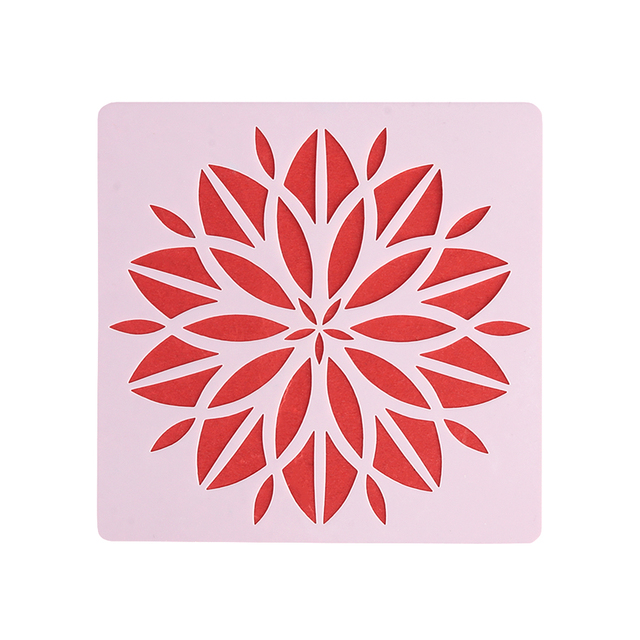 Mandala Flower Stencil For Painting and Dotting
