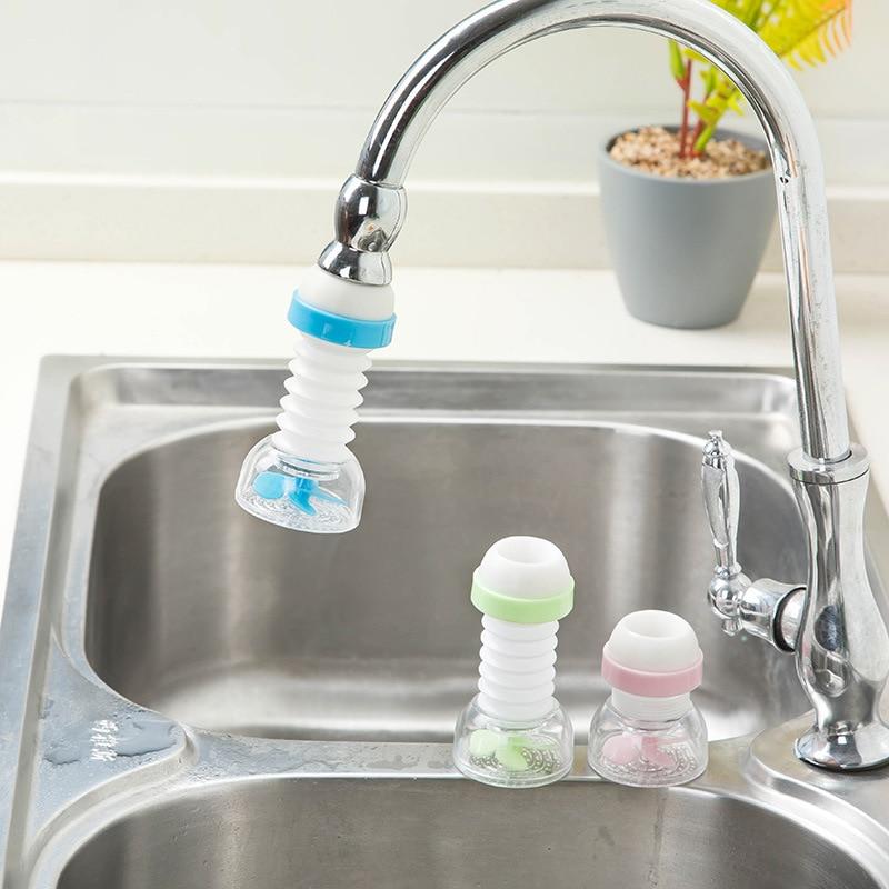 1 Creative Saving Water Adjustable Tap Filter Nozzle Kitchen Faucet Sprayer