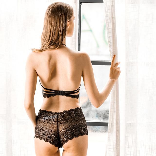 Full Transparent Lace Shaper For Women Bodysuit Female Halter V Black Shapers Corset Slim Bodies Shapewear Lingerie Panty