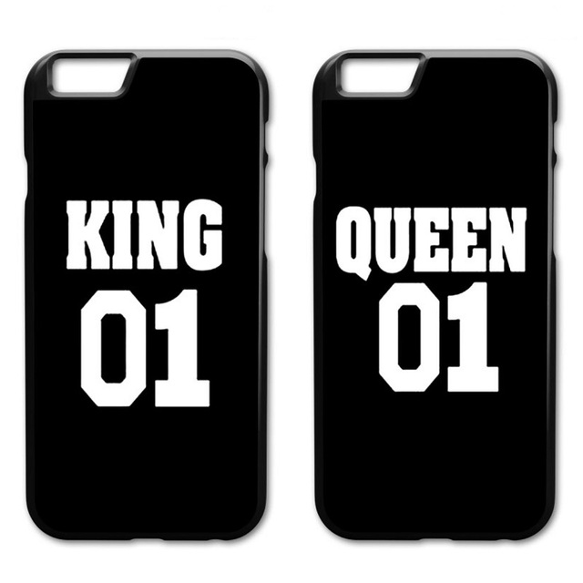 d87e9692a4 King Queen 01 Cover Case for iPhone 5 5S 6 6S 7 8 Plus X XS MAX XR Samsung  Galaxy S4 S5 S6 S7 Edge S8 S9 Plus