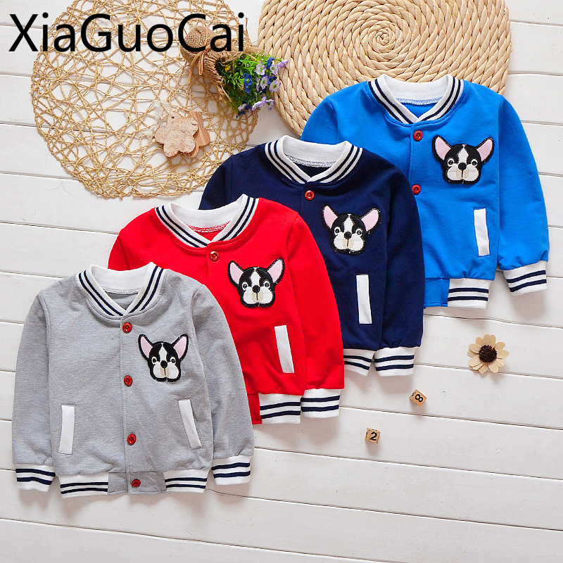 Baby Coats Jackets Clothing Spring Girl Autumn Children's New Boy And Cartoon Casual