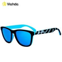Viahda 2016 Populares gafas de Sol Deportivas Para Hombres De Pesca Gafas de Sol Gafas De Sol Luneta De Soleil F853 con caja