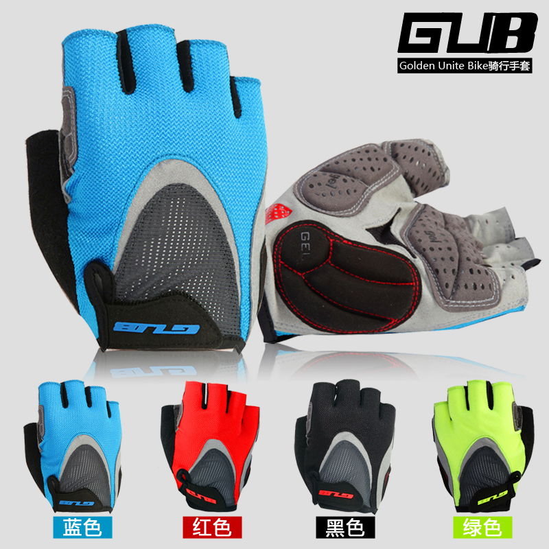 GUB comfortable mtb bike bicycle cycling gloves half finger guantes ciclismo bicicleta g ...