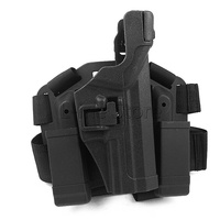 Hunting Gun Accessories Airsoft Tactical Thigh Leg Holster Paintball Gun Holster for HK USP Compact