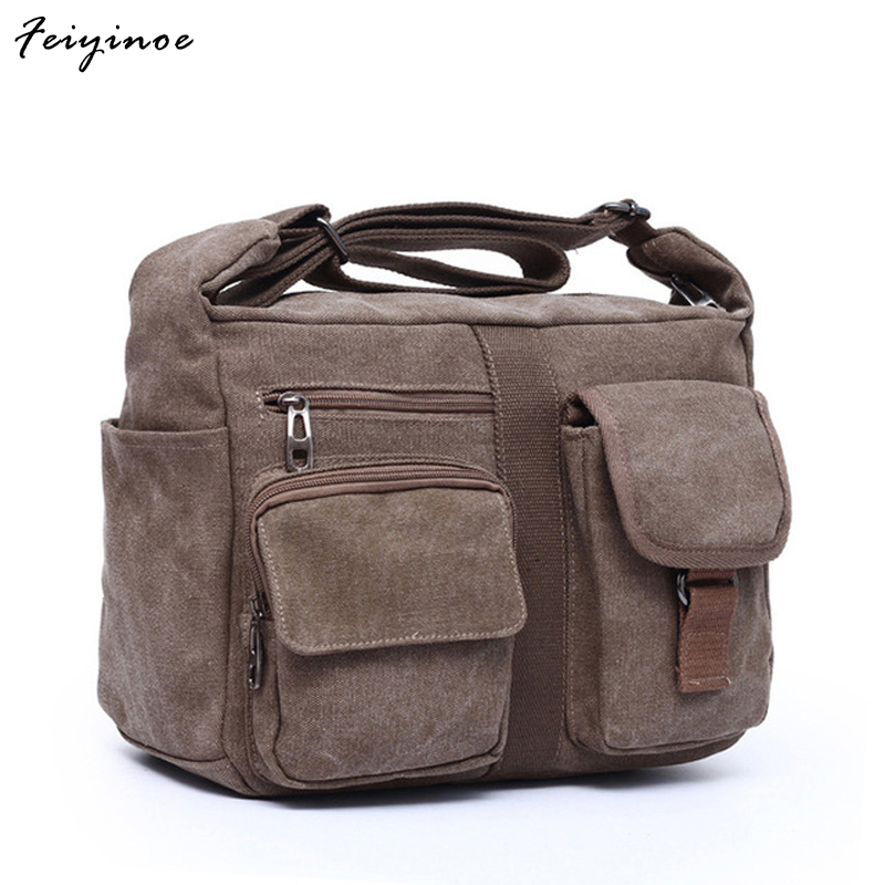 2017 new canvas bag handbag mens