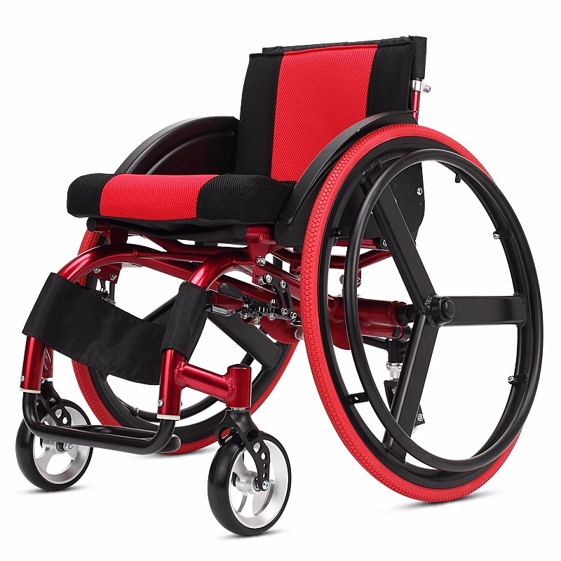 Kai Yang Sports Leisure Wheelchair Folding Portable Carrying Ultra Light Aluminum Alloy Quick Disassembly Rear Wheel