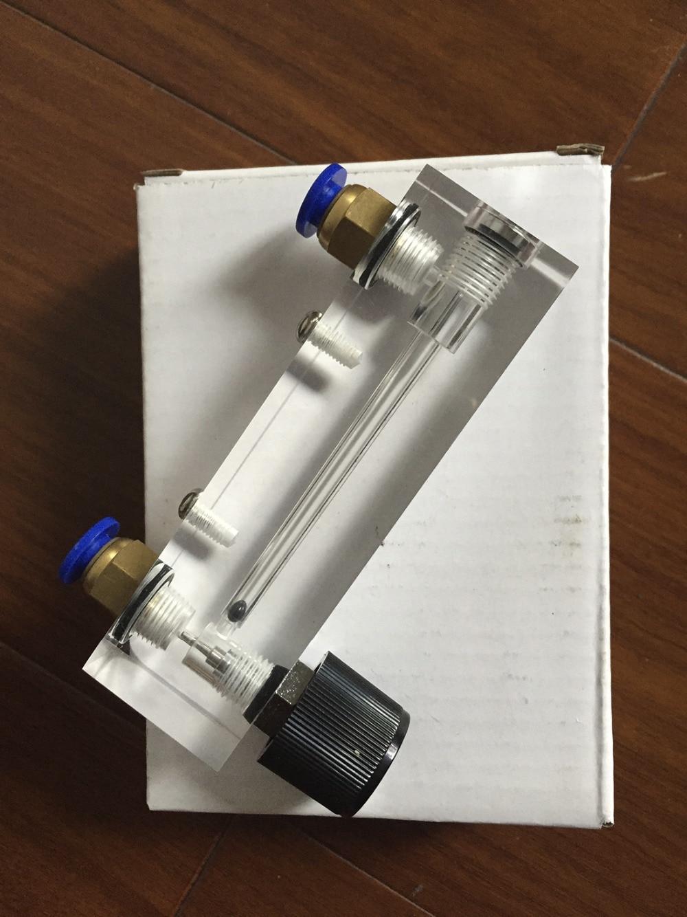 LZT-4T 0.2-2 LPM 0.2-2L/min Square Panel Gas liquid Flowmeter Flow Meter rotameter LZT4T Tools Flow Measuring  цены