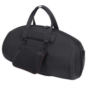 Hot Deal Para JBL Portátil Boombox Bluetooth Speaker Hard Case Carry Case Bag Caixa de Proteção À Prova D' Água (Preto)