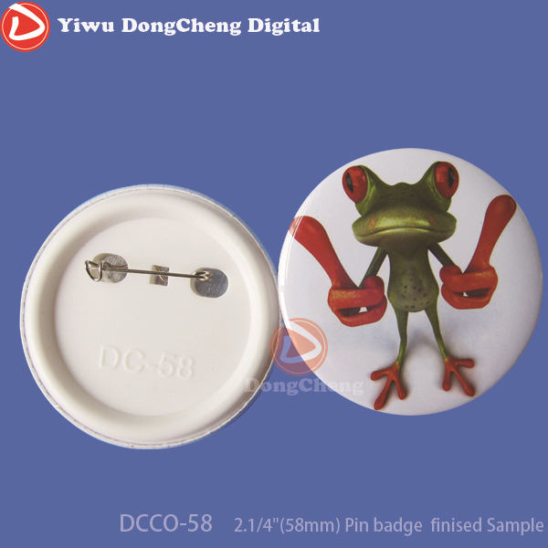 200sets Free Shipping 2.1/4(58mm) Plastic Pin Badge Material,Blank button parts free shipping 3 75mm 200sets plastic pin badge material blank button parts tin badge components