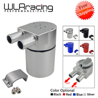 UNIVERSAL Aluminum Alloy Reservior Oil Catch Can Tank for BMW N54 335 BLACK & SILVER & Red & Blue