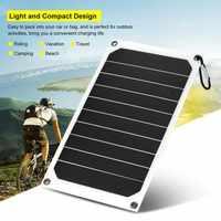 Портативное зарядное устройство для солнечной панели, 10 Вт, IP64, 5 В, USB