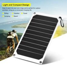 Przenośny 10W IP64 wodoodporny Panel słoneczny zasilanie mobilne ładowarka 5V USB mocne ładowanie CLH @ 8 tanie tanio