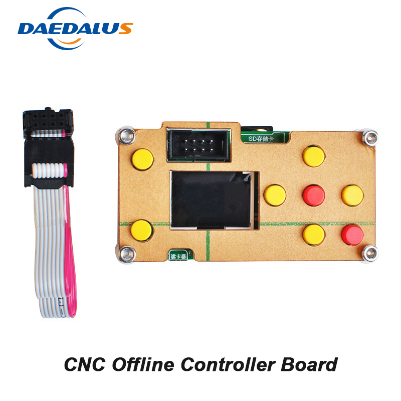 Free Shipping GRBL Controller Board Offline 3 Axis CNC Controller For PRO 1610/2418/3018 Wood Carving Engraver Milling Machine