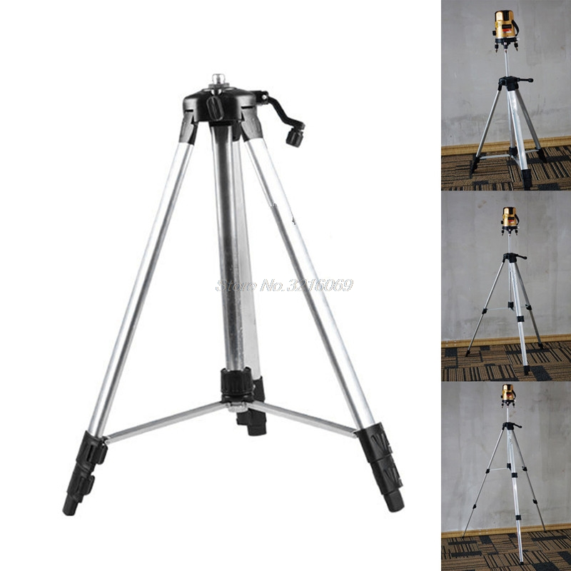 150cm 110cm Tripod Carbon Aluminum With 5/8 Adapter For Laser Level Adjustable mydyicat 8 110cm
