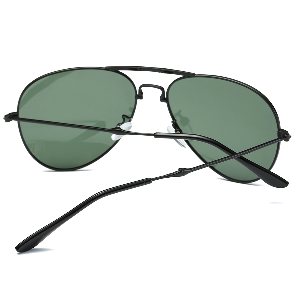 Polarisierte Sonnenbrille Pilot Kann Gefaltet Werden Tragbare Unisex ...