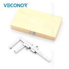 VECONOR Remschijf en Type Dieptemeter Schuifmaat 0 60mm 0.1mm Remblokken Dikte Meten heerser Klauw Lengte 50mm