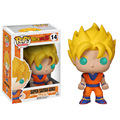 10cm Funko Pop Dragon Ball Z Super Saiyan Goku Model PVC Action Figure Animation Collection Toy Kids Best Toys Come With Box