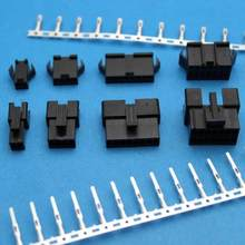 10set/20set 2.5mm Pitch 2-12Pin JST SM Male & Female Plug Housing Pin Header Crimp Terminals Connector Kit