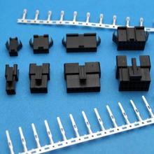 10set/20set 2.5mm Pitch 2-12Pin JST SM Male & Female Plug Housing Pin Header Crimp Terminals Connector Kit