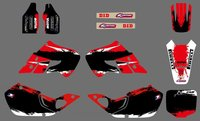 0515 Power NEW STYLE TEAM DECALS GRAPHICS BACKGROUNDS For CR125 CR250 1997 1998 1999