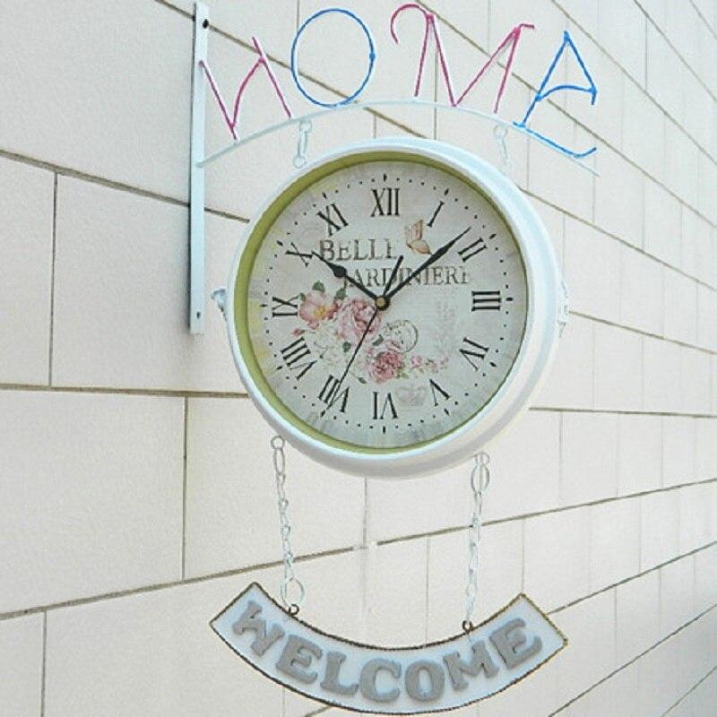 Double-sided wall clock Saat Clock Reloj Duvar Saati Horloge Murale Relogio de parede Klok Orologio da parete Watch Home decor Double-sided wall clock Saat Clock Reloj Duvar Saati Horloge Murale Relogio de parede Klok Orologio da parete Watch Home decor