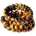 Olho de tigre amor famoso marca buda pulseiras pulseiras na moda pedra Natural pulseira para mulheres homens jóias pulseiras de olho de tigre