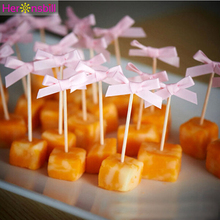 24 個ちょう結びカップケーキトッパー最初誕生日パーティーの装飾子供の少年少女私 1st 1 年間用品ちょうど結婚結婚式