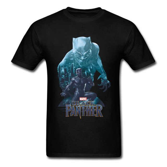 Well Chosen Best Gift T Shirt Anime Black Panther Tshirt Top Brands Casual Graphic  Tees Men s White T-Shirts Wakandas Finest cff73c9d2e10