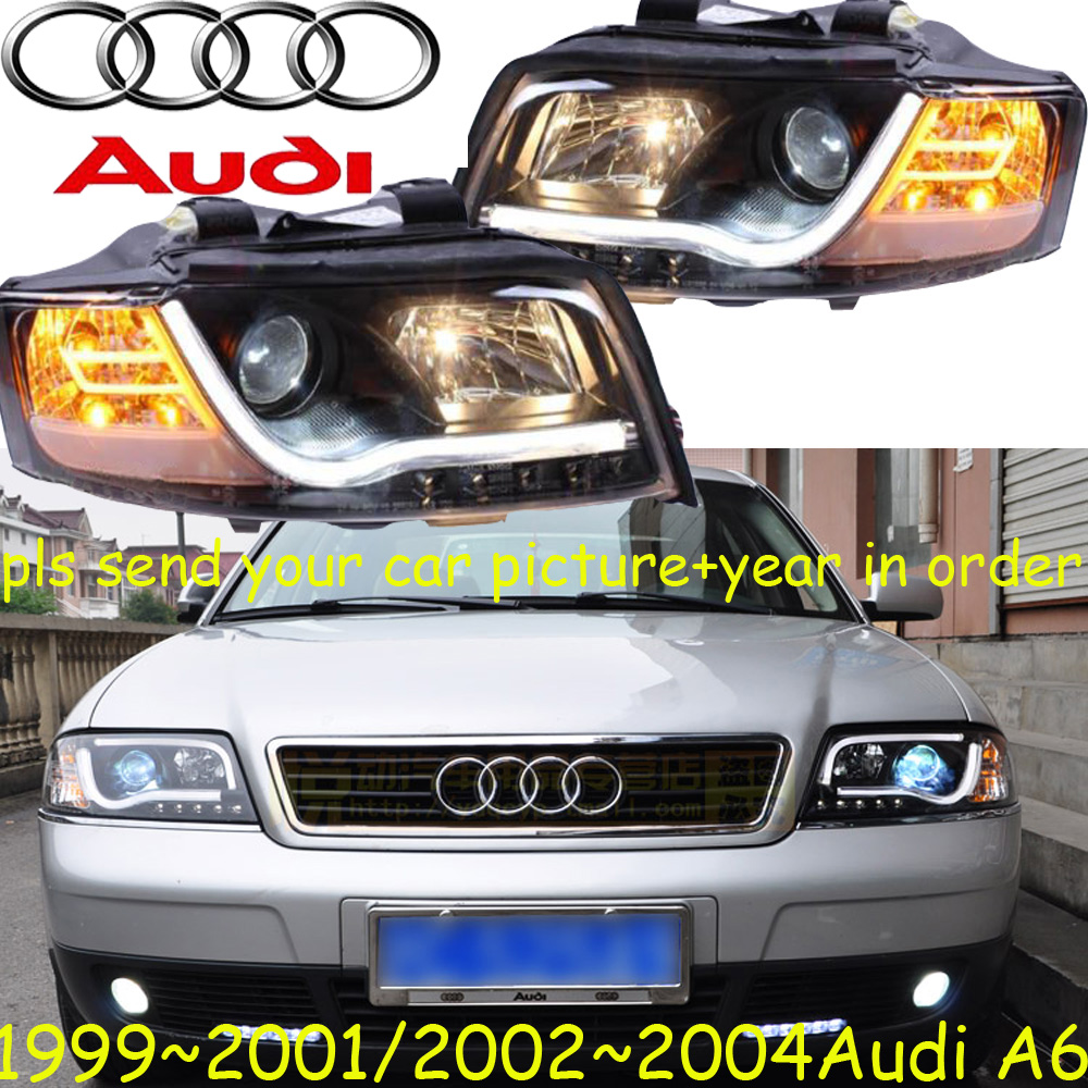car-styling,A6 headlight,1999~2004,Free ship! A6 fog,chrome,LED,A4,A5,A8,Allroad,Quattro,Q3,Q5,Q7,S3 S4 S5 S6 S7 S8 it8712f a hxs