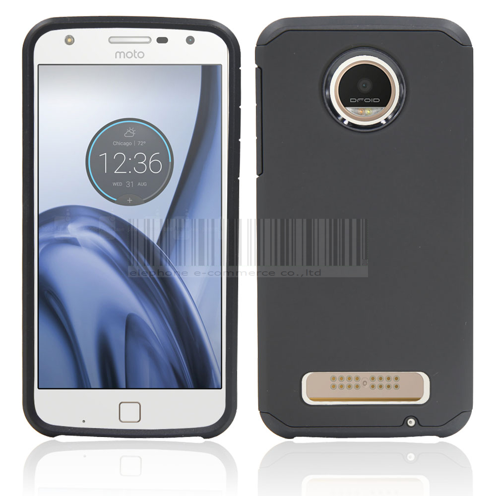 With Screen Protector Hybrid Armor <font><b>Case</b></font> Shockproof Slim Hard Silicone TPU+PC <font><b>Phone</b></font> <font><b>Case</b></font> Cover For Motorola <font><b>Moto</b></font> <font><b>Z</b></font> <font><b>Play</b></font> <font><b>DROID</b></font> @