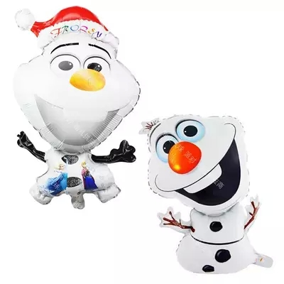 50pc 72 44cm Snowman Olaf Inflatable Foil Balloon Cartoon inflatable Balloon Party Birthday Decoration Free Shipping