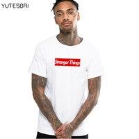 Stranger Things T Shirt Men Fitness Cotton O Neck Male T Shirt Short Sleeve High Quality
